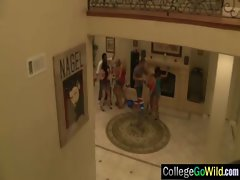College Vixens Models Luxuriate Group Sex video-28