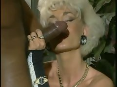 Dolly Buster-MILF Banged By 2 Ebony Penises
