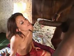Slim Luscious Cutie Being Destroyed By Huge BBC