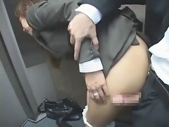 asian office lady fuck (censored) p1