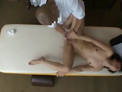 18 years old Dirty wife reluctant Orgasm during Health Massage