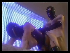 Chap banging cutie in the leather mask